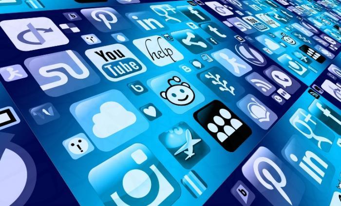 Image of various social media platform logos