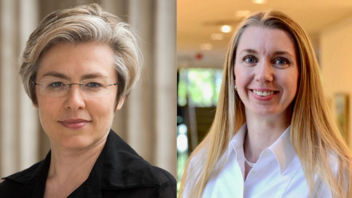 Headshots of faculty shortlisted for the award